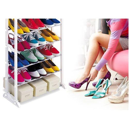 Stand αποθήκευσης 30 ζευγαριών παπουτσιών (Οργάνωση σπιτιού)